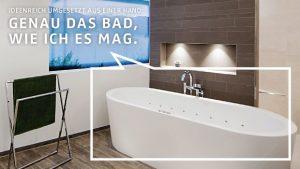 Mit den richtigen Badprofis an Ihrer Seite erhalten Sie Ihr Wohlfühlbad genauso, wie Sie es sich wünschen.
